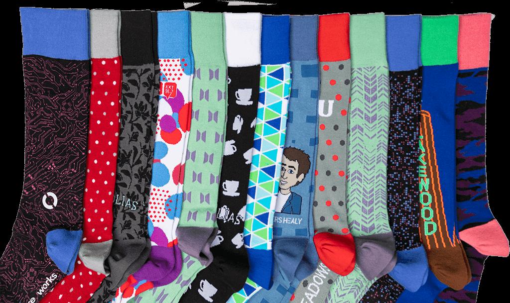 Assorted Premium Custom Socks by DeadSoxy
