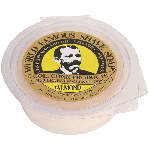 Delivers just a hint of mild amaretto scent, with all the rich, thick lather you've come to trust in all of our shave soaps. Made in the USA #158