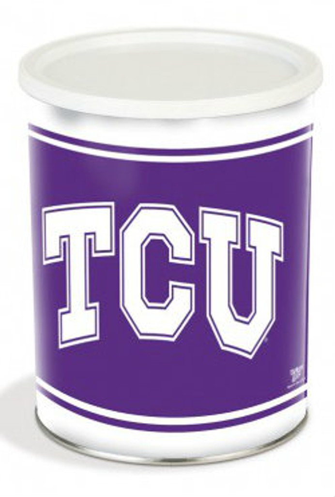 TCU Horned Frogs 1 Gallon Tin