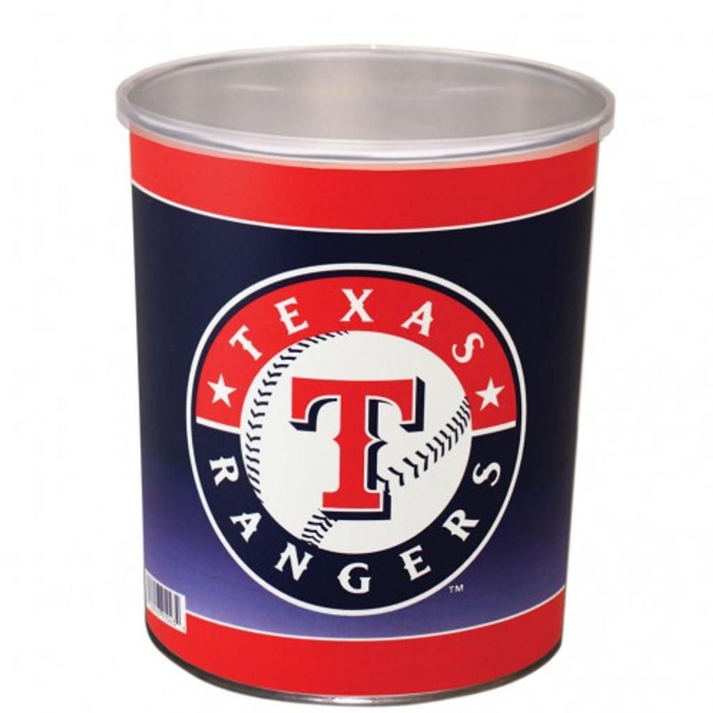 Texas Rangers 1 Gallon Tin