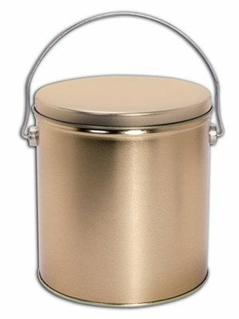 Solid Gold 1 Gallon Tin