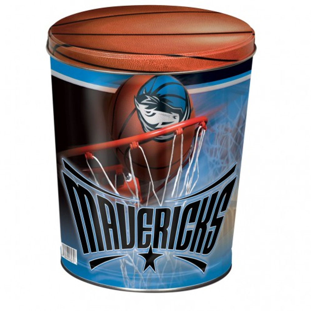 Dallas Mavericks 3 Gallon Tin