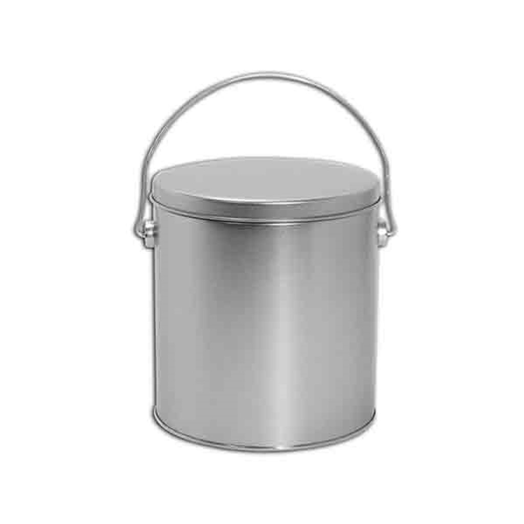 Solid Silver 1 Gallon Tin