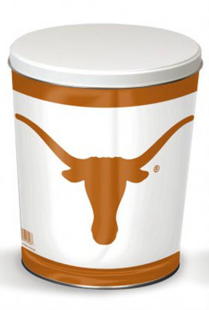 Texas Longhorn 3 Gallon Tin