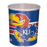 Kansas Jay Hawks 1 Gallon Tin