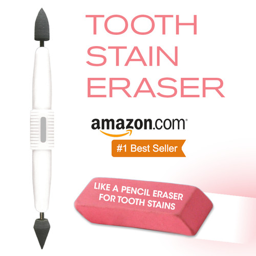 STAINO® Tooth Stain Eraser. #1 Amazon Best Seller!