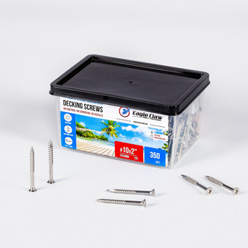 2 inch stainless steel deck screws