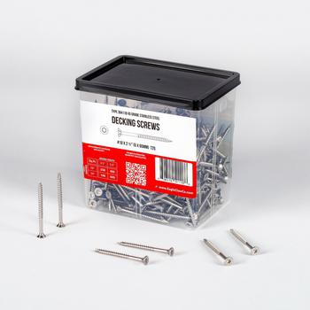 2.5 inch stainless steel deck screws torx drive