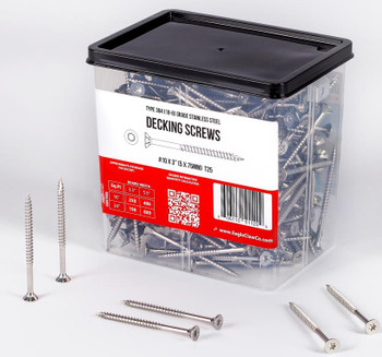 3 inch stainless steel deck screws