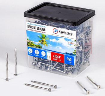 3 inch stainless steel deck screws