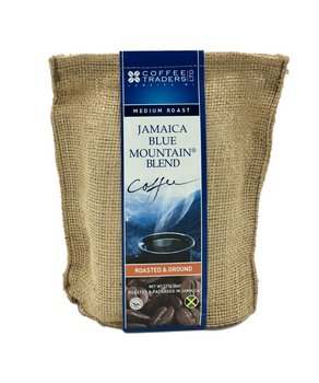 Coffee Traders Jamaica Blue Mountain Coffee Blend 8 Ounce Bag Ground - EXPIRES DEC 2020 SPECIAL PRICE!