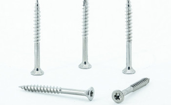 Eagle Claw Tools and Fasteners 10 x 2 Inch Stainless Steel Deck Screws 100 Box T25 Star Drive Included