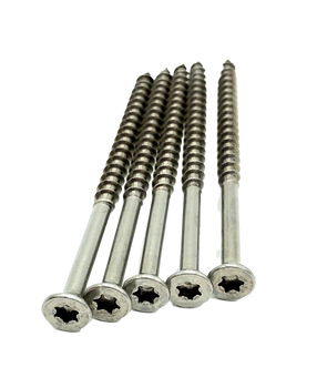 "Strong-Point #10 X 3-1/2"" 305 Grade Stainless Steel Deck Screws Star Drive QTY 1000"