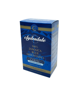 Clydesdale 100 Percent Jamaican Blue Mountain Coffee Medium Roast Ground 4 Ounce