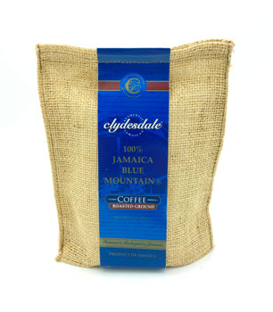 Clydesdale by Coffee Traders One Hundred Percent Certified Genuine Jamaica Blue Mountain Coffee Medium Roast and Ground 8 Ounce