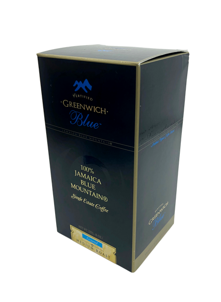 Greenwich Rare Single Origin Jamaica Blue Mountain Coffee Ground