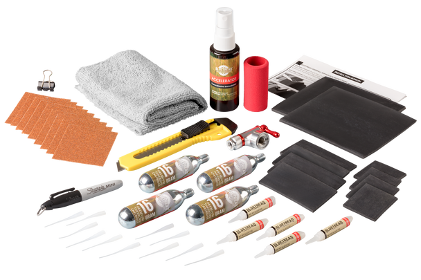 GlueTread All-in-One Deluxe Puncture Repair Kit