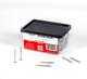 """Stainless Steel Deck Screws # 10 X 2"""" Star Drive T25 Torx (QTY 350 - 3lb)"""