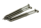 """Strong-Point #10 X 3-1/2"""" 305 Grade Stainless Steel Deck Screws Star Drive QTY 1000"""