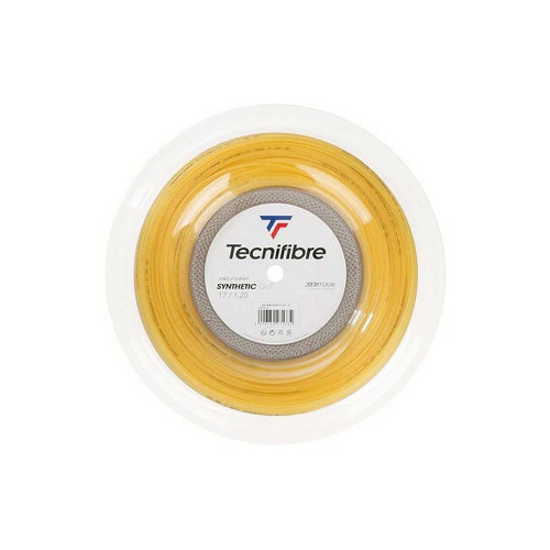 Tecnifibre Synthetic Gut (Yellow) 1.25/17G String Reel 200m