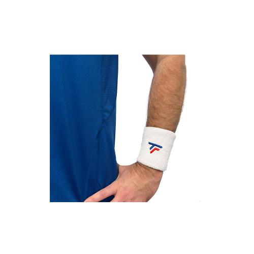 Tecnifibre Wrist Band XL White