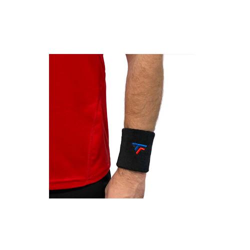 Tecnifibre Wrist Band XL Black
