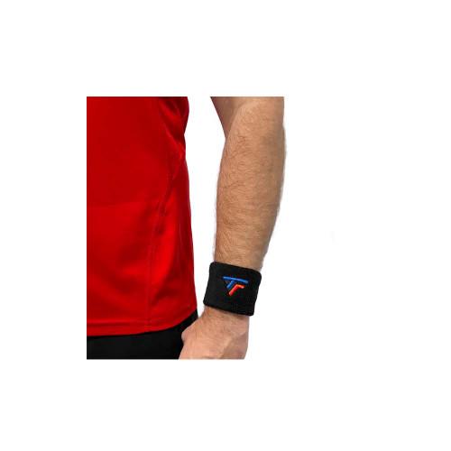 Tecnifibre Wrist Band 2 Pack Black - SOLD OUT