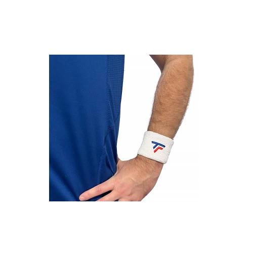 Tecnifibre Wrist Band 2 Pack White