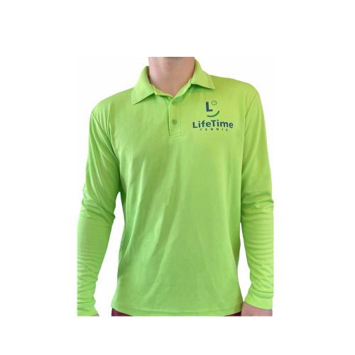 Long Sleeve Playing Shirt Lime