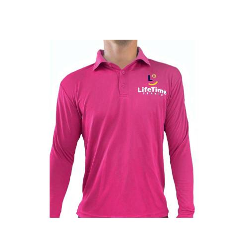 Long Sleeve Playing Shirt Pink