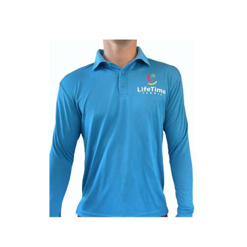 Long Sleeve Playing Shirt Blue