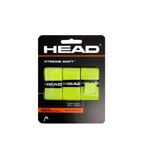 Head XTREME SOFT Overgrip 3 Packs (Yellow)