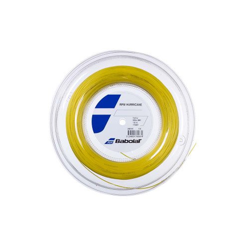 Babolat RPM Hurricane (Yellow) 1.3/16G String Reel 200m