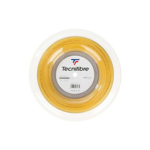 Tecnifibre Synthetic Gut (Yellow) 1.3/16G String Reel 200m