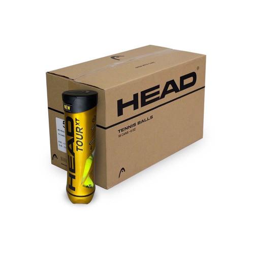 Head Tour XT (4 ball can) Carton 72 balls