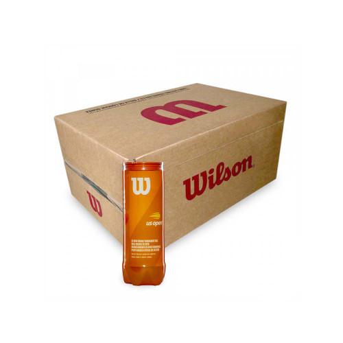 Wilson US Open Orange (3 ball can) Carton 72 balls