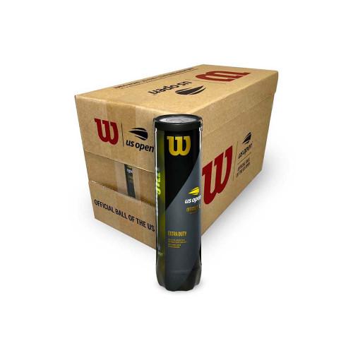 Wilson US Open XD (4 ball can) Carton 72 balls