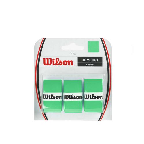 Wilson Pro Overgrip 3 Pack (Green)