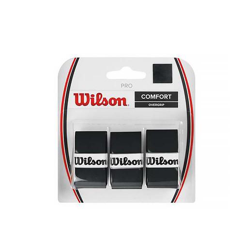 Wilson Pro Overgrip 3 Pack (Black)