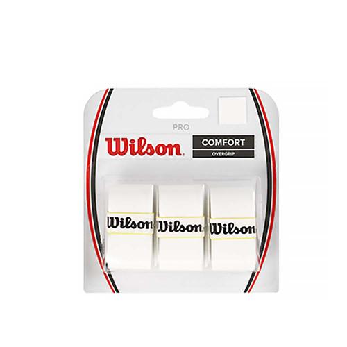 Wilson Pro Overgrip 3 Pack (White)