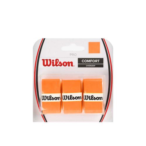Wilson Pro Overgrip 3 Pack (Orange)