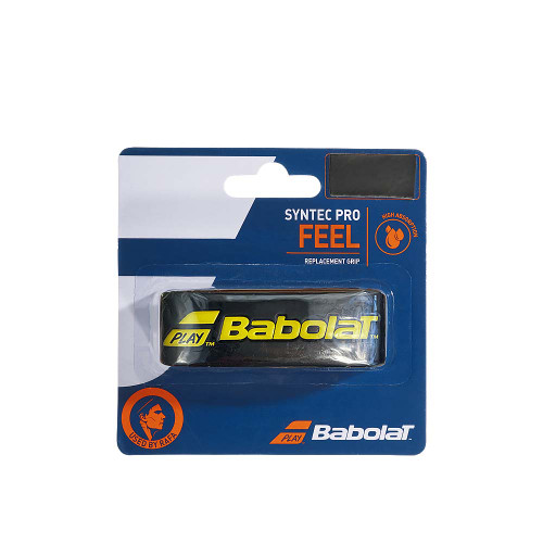 Babolat SYNTEC PRO FEEL Replacement Grip (Black/Yellow)