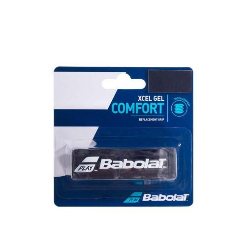 Babolat XCEL GEL COMFORT Replacement Grip (Black/White)