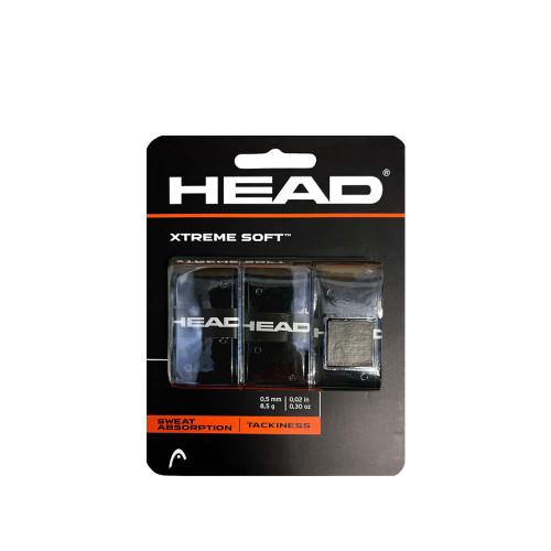 Head XTREME SOFT Overgrip 3 Packs (Black)