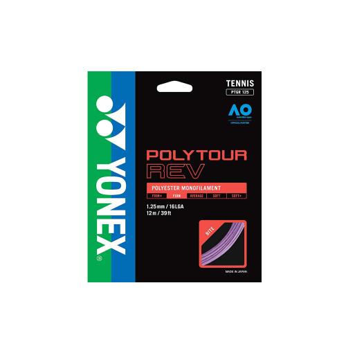 Yonex Poly Tour Rev (Purple) 1.25/16LGA Set - Coming Soon