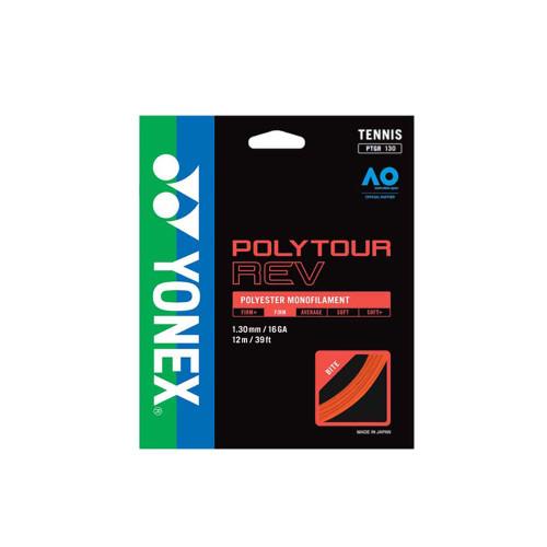 Yonex Poly Tour Rev (Orange) 1.3/16GA Set