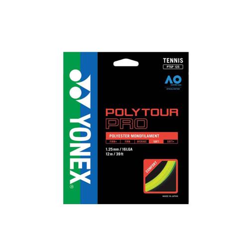 Yonex Poly Tour Pro (Yellow) 1.25/16LGA Set