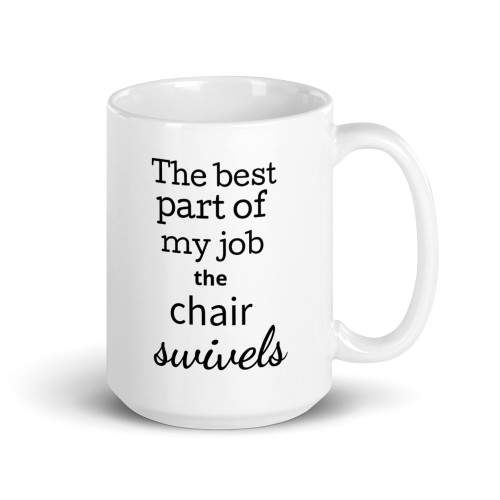 Chair Swivels Mug