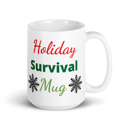 Holiday Survival Mug