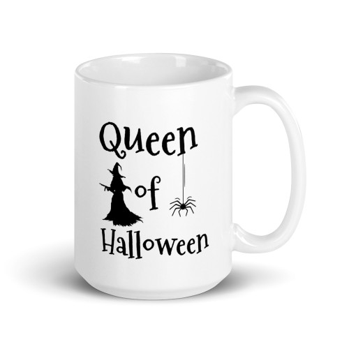 Queen of Halloween Mug